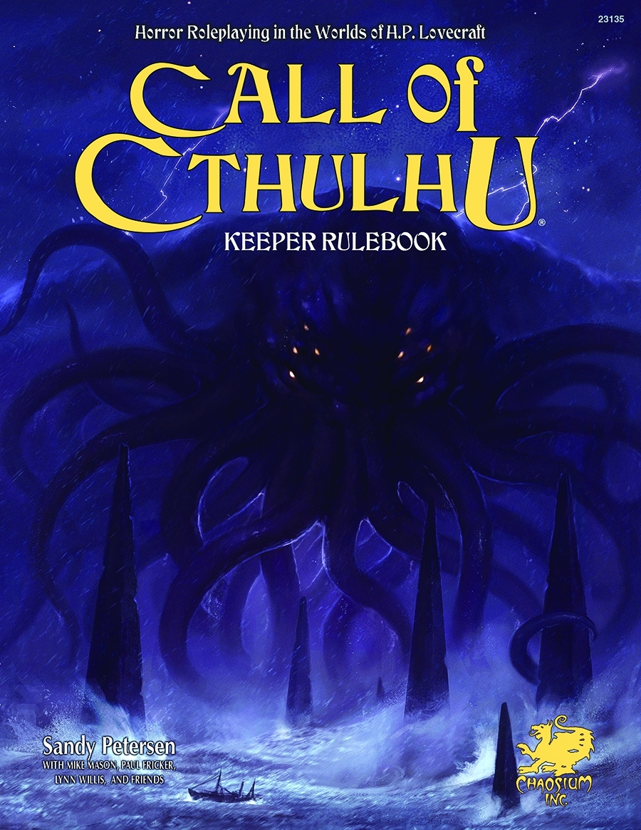 Ring Side Report- RPG Review of Call of Cthulhu 7th Edition
